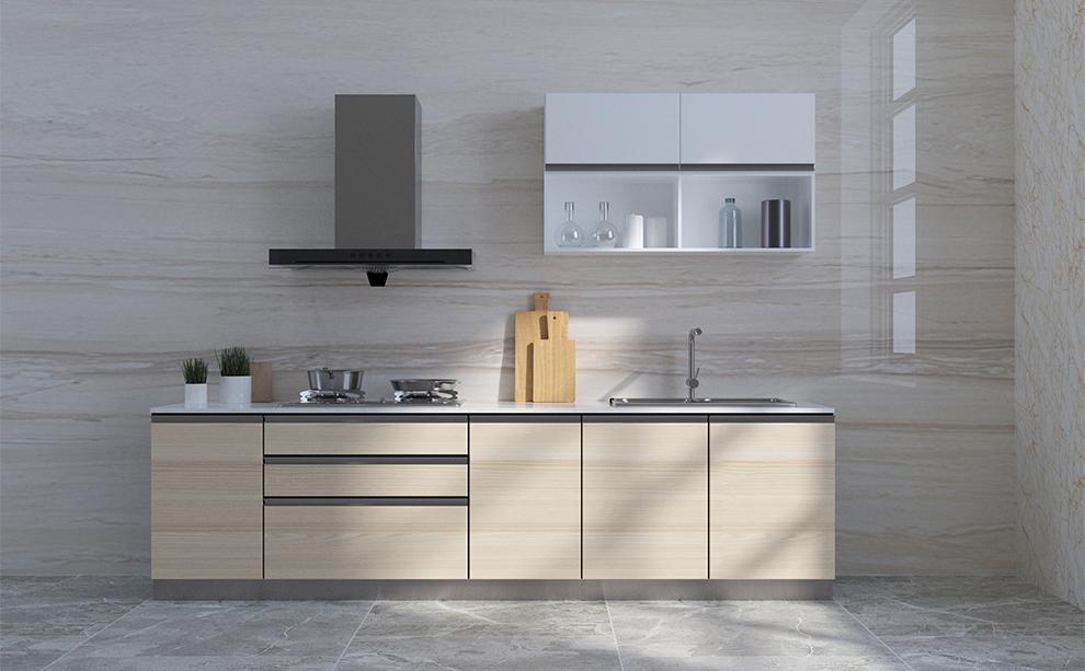 idealidea整体橱柜 现代简约橱柜定制厨房